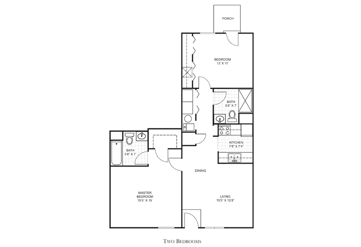 Clearwater Independent Living Washington Floor Plan