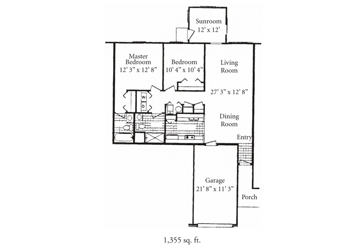 Fort Wayne Independent Living Seville Floor Plan