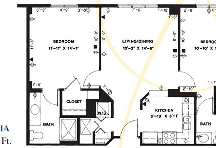 Forum at Deer Creek Assisted Living Dahlia Floor Plan