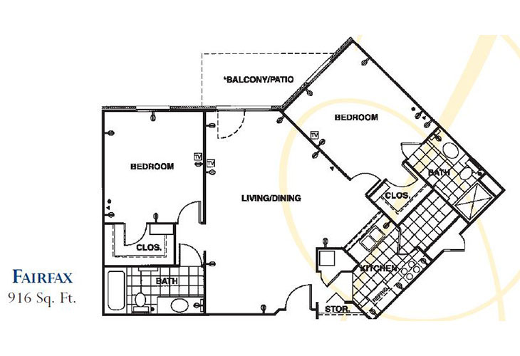 Forum at Knightsbridge Assisted Living Fairfax Floor Plan