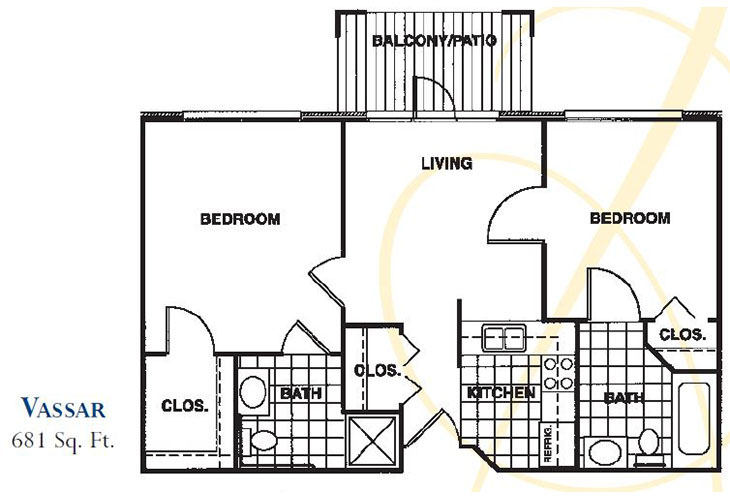 Forum at Knightsbridge Independent Living Vassar Floor Plan