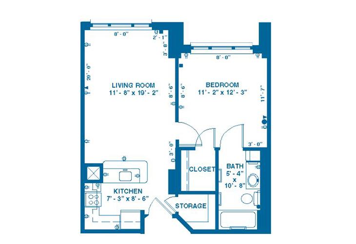 Forum At Memorial Woods Memory Care A Floor Plan