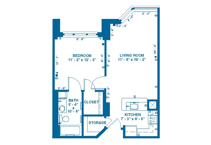Forum At Memorial Woods Memory Care B Floor Plan