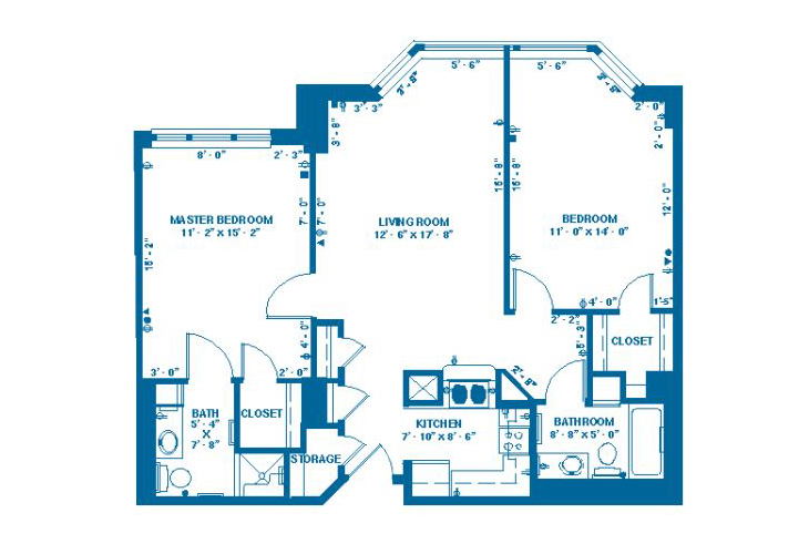 Forum At Memorial Woods Memory Care H Floor Plan