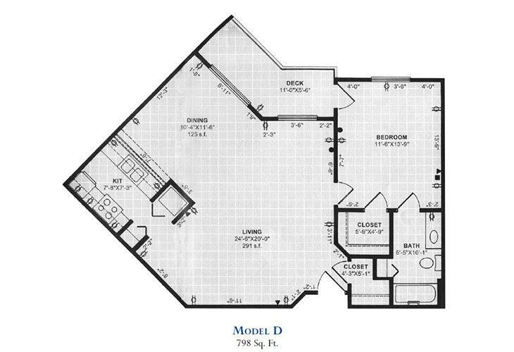 Forum at Overland Park Independent Living Model D Floor Plan