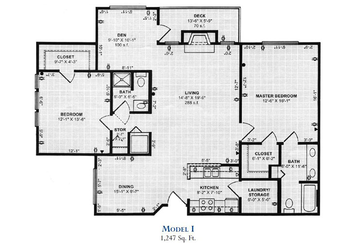 Forum at Overland Park Independent Living Model I Floor Plan