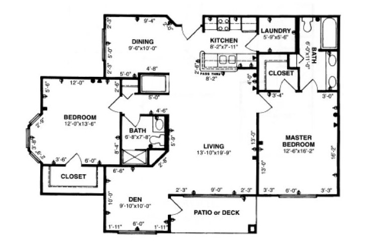 Forum at Tucson Independent Living Model G Floor Plan