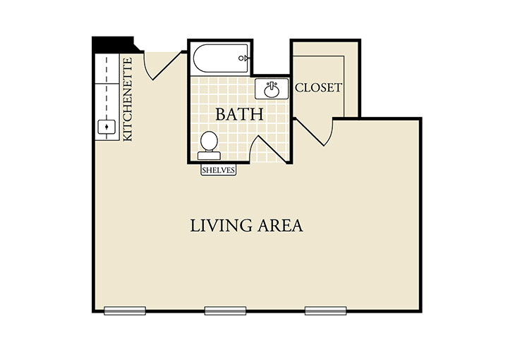 Heritage Place Boerne Assisted Living One Bedroom