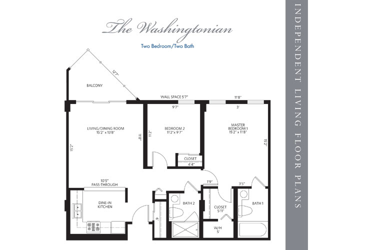 Hollywood Independent Living Wshingtonian Floor Plan