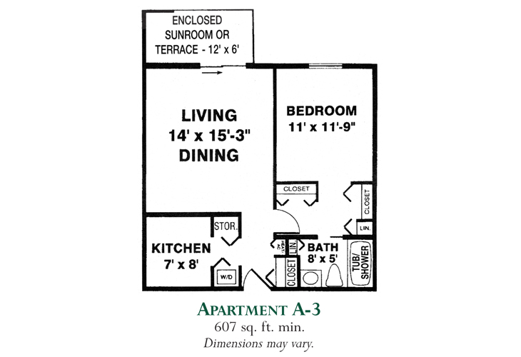 Meadowood Independent Living Apartment A-3