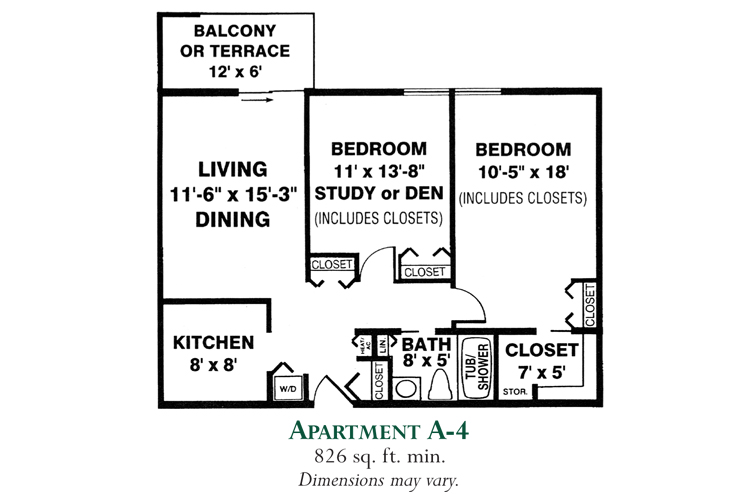 Meadowood Independent Living Apartment A-4