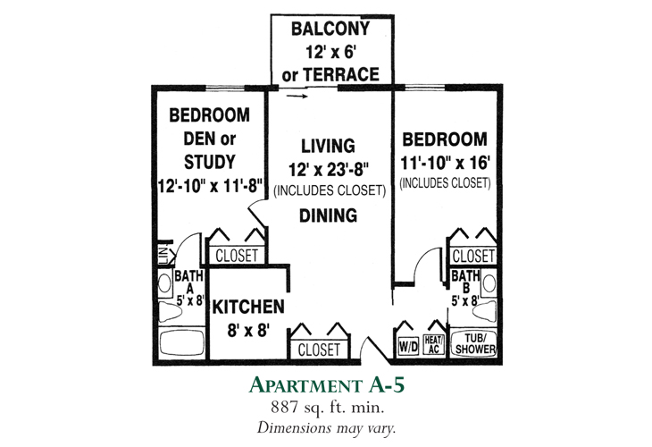 Meadowood Independent Living Apartment A-5