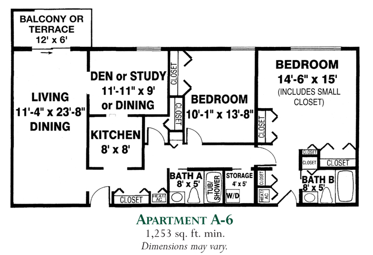 Meadowood Independent Living Apartment A-6