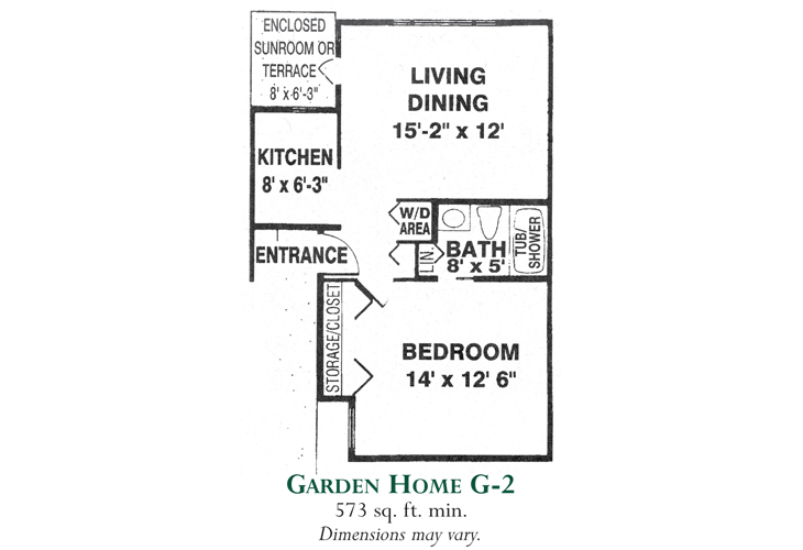 Meadowood Independent Living Garden Home G-2