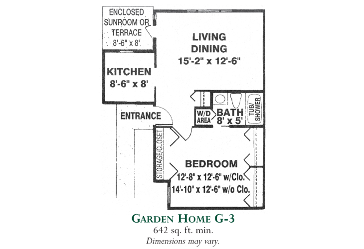 Meadowood Independent Living Garden Home G-3
