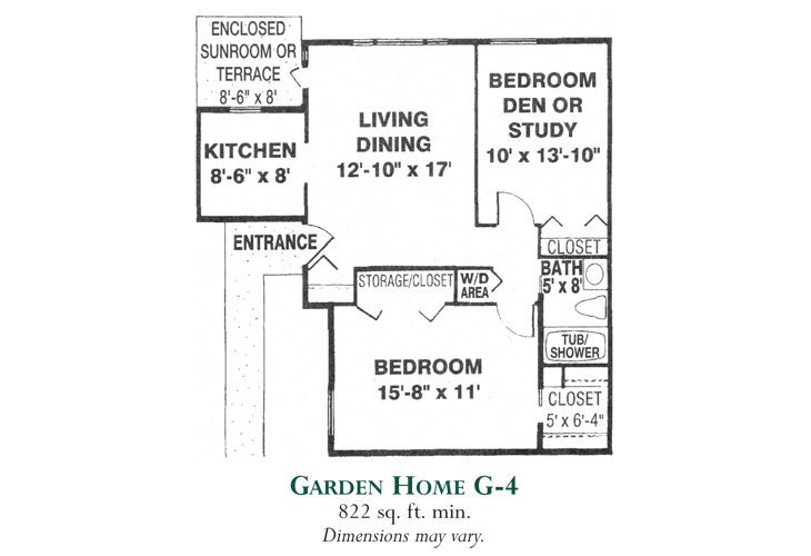 Meadowood Independent Living Garden Home G-4