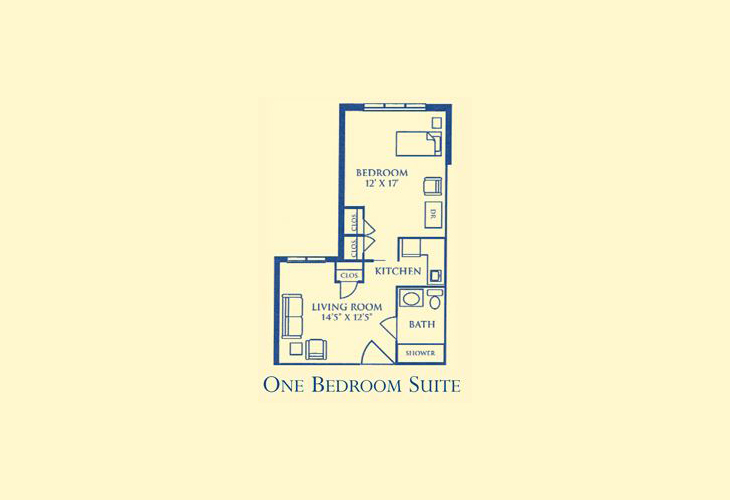 Morningside Bellgrade Assisted Living One Bedroom Suite