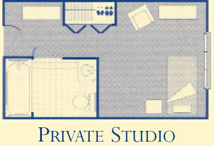 Morningside Charlottesville Assisted Living Private Studio