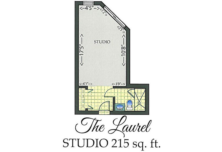 Park Summit Assisted Living The Laurel Floor Plan