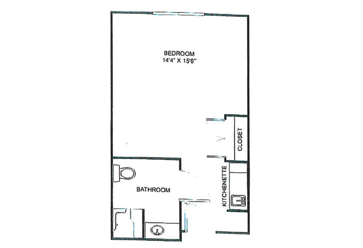 Parkwood Village and Landing Assisted Living Large Private Suite