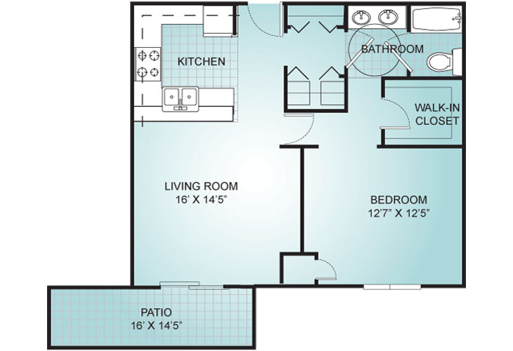 Riviera Independent Living Villa 5 Floor Plan