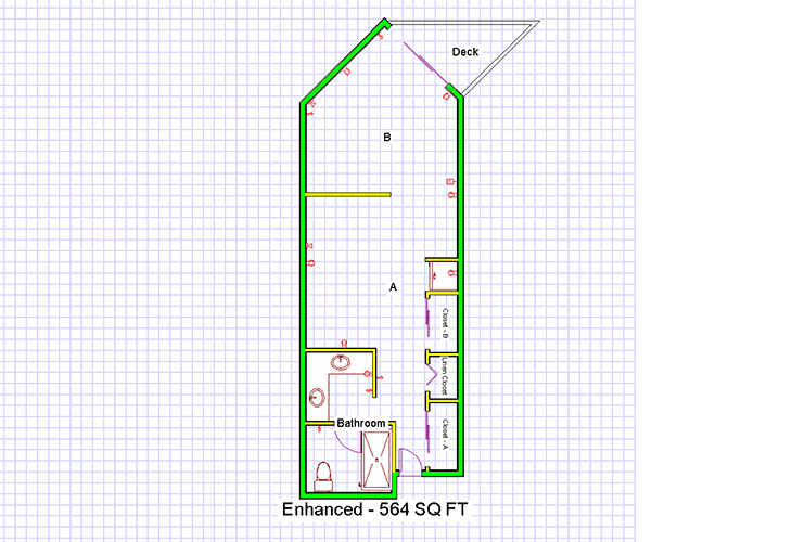 Enhanced Maple Memory Care Floorplan