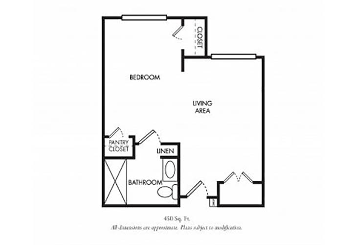 Kent One Bedroom