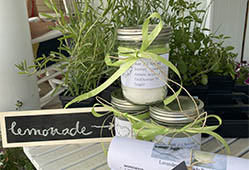 lavender lemonade jars