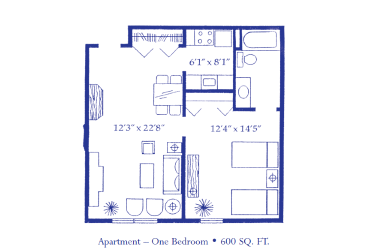 Apartment - 1 Bedroom
