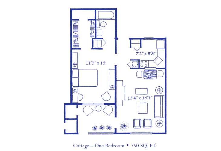 Cottage 1 Bedroom