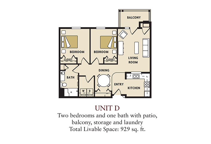 D two bedroom