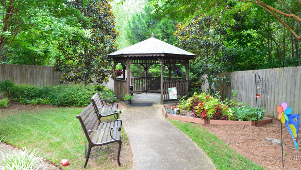 Summit Place of Kings Mountain Gazebo