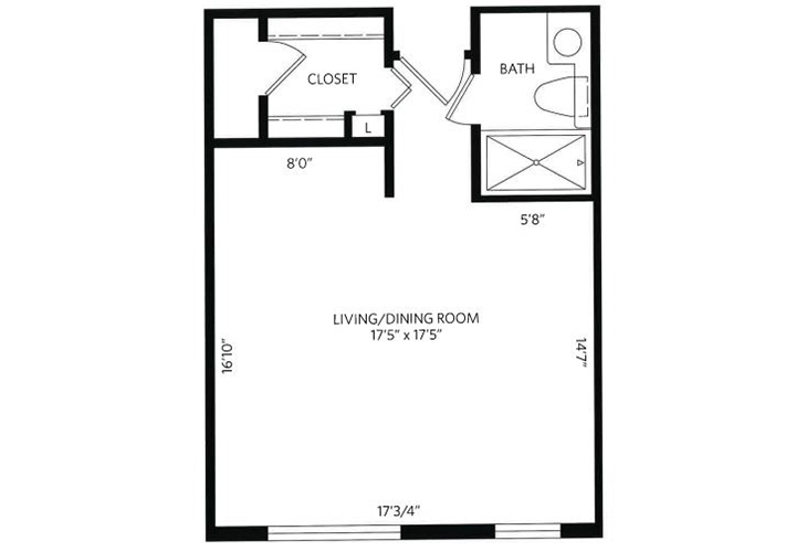 new yorker floor plan