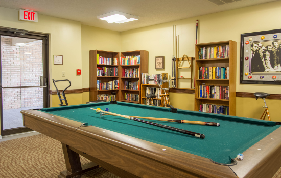 billiards room with a nice pool table