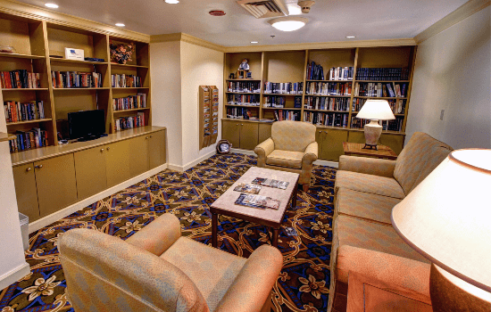 FSPR Pompano Couches with Library