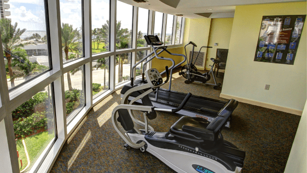 FSPR Pompano Exercise Room with Windows