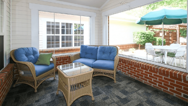 Carriage House Porch