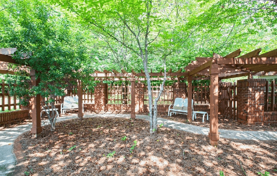 Carriage House Courtyard