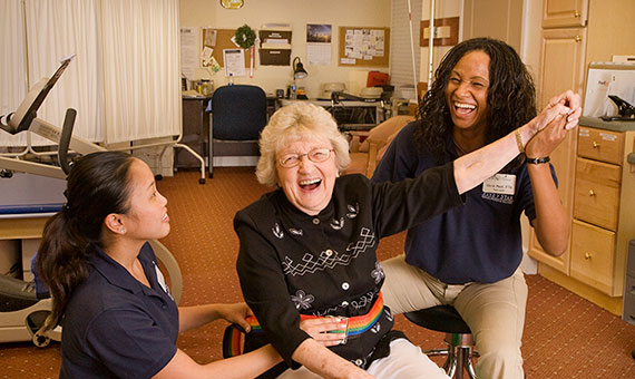 physical therapists and resident