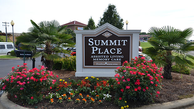 Summit Place of Mooresville Sign
