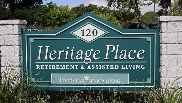 Heritage Place of Boerne Sign