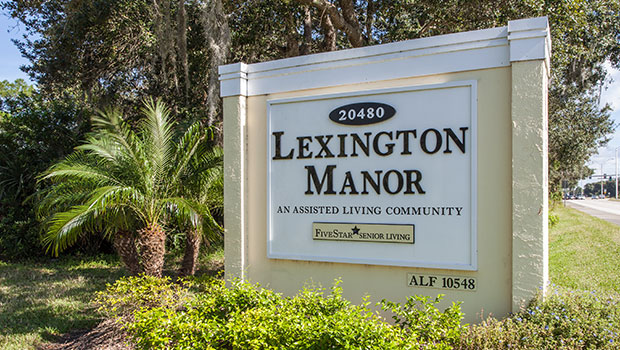 Lexington Manor Outdoor Sign