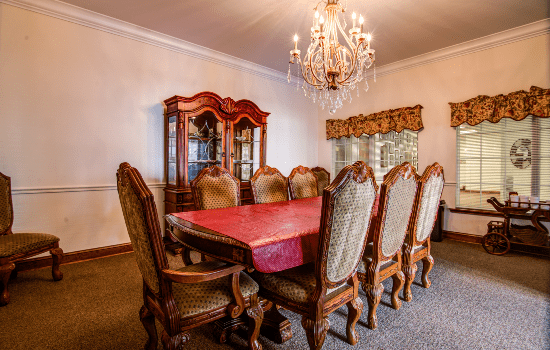 Cameron Hall of Ellijay Private Dining Room