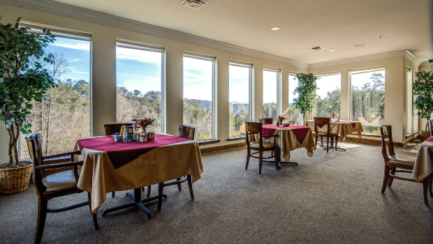Cameron Hall of Ellijay Dining Room