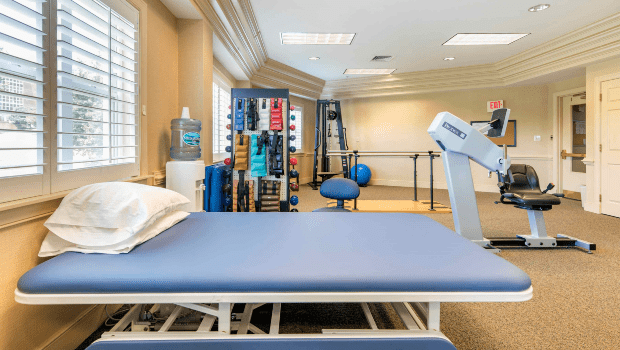 rehabilitation center with all the necessary equipment