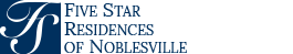 Five Star Residences of Noblesville Logo