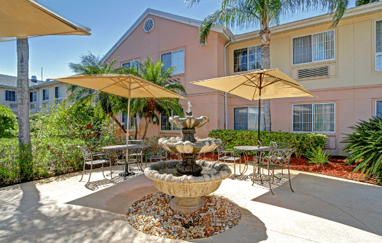 Gardens of Port St. Lucie Patio