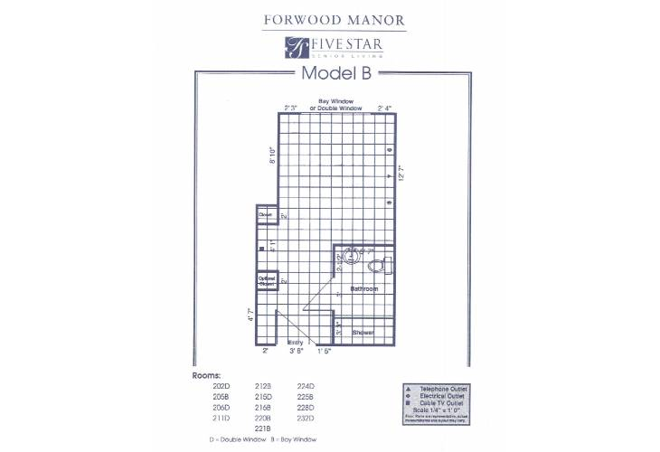 Forwood Manor Assisted Living Model B