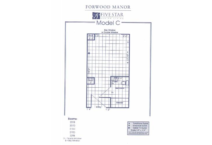 Forwood Manor Assisted Living Model C