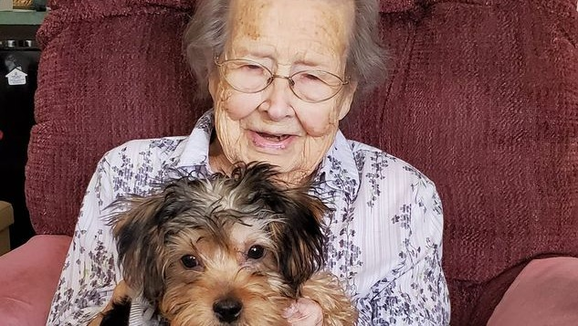 a very nice photo of a woman and a dog